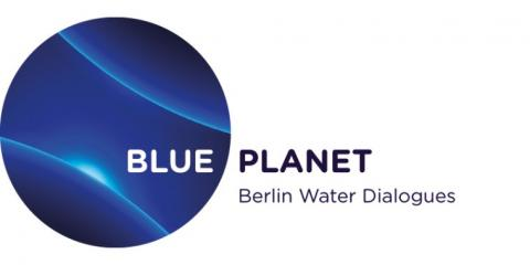 Logo BLUE PLANET Berlin Water Dialogues
