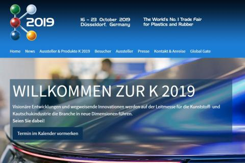 ab9ad8be29b K 2019 - Trade Fair for Plastics and Rubber