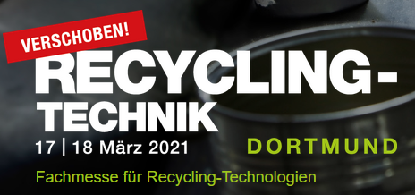 RECYCLING-TECHNIK Dortmund 2021