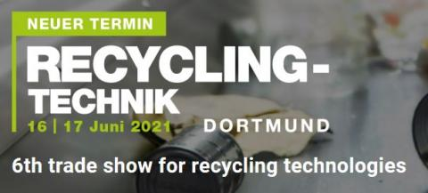 RECYCLING-TECHNIK Dortmund 2020